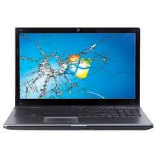 Damage Laptop Screen Replacement