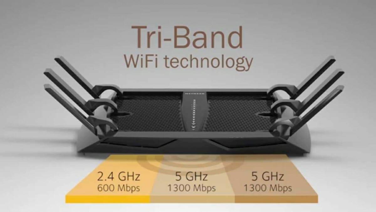 Netgear R8000 Nighthawk X6 WiFi router